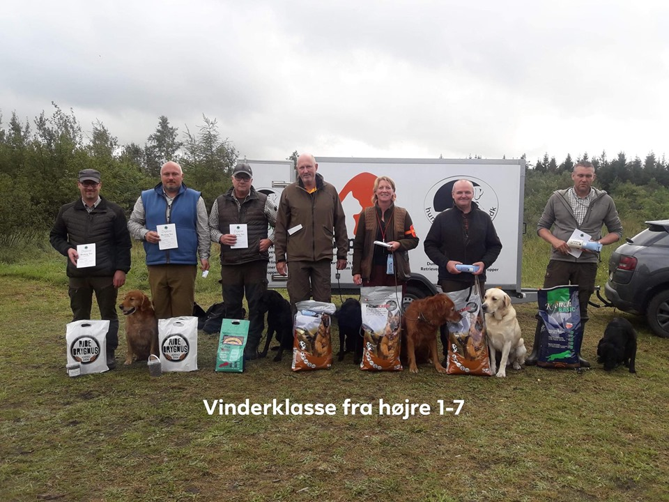 Dansk Retriever Klub region sydjylland Wt Hønning 17/8